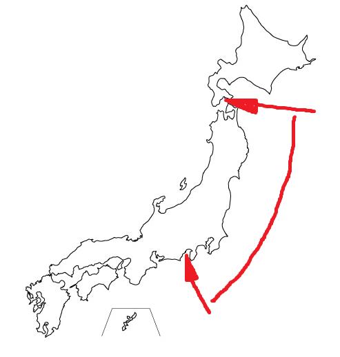 日本列島(20160828)