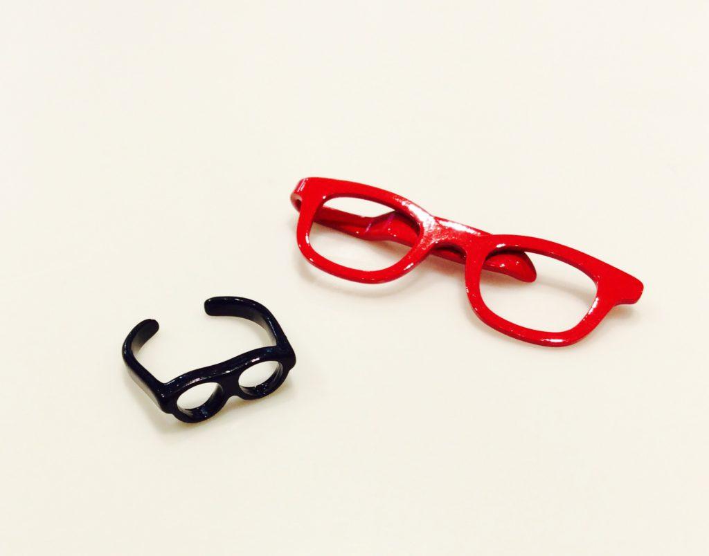 メガネクリップリング